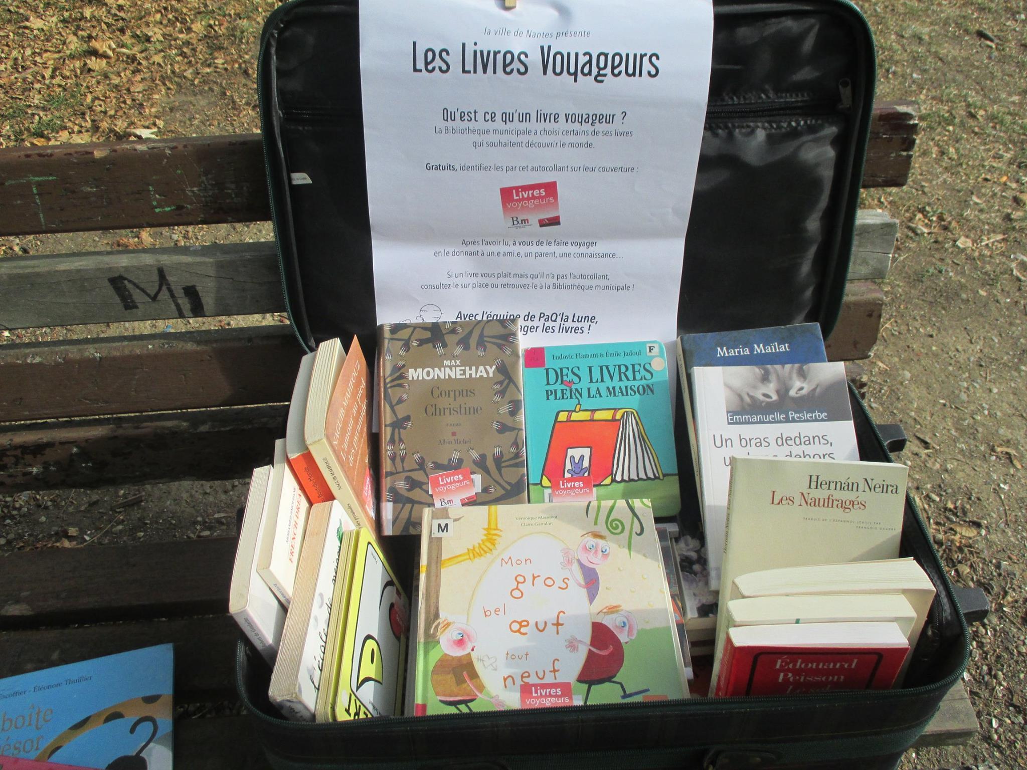 Des livres qui voyagent